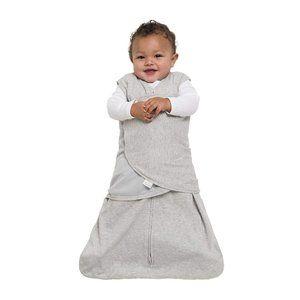 HALO Sleepsack 100% Cotton Swaddle, Gray, Small